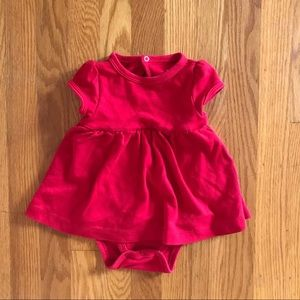 Red Primary Baby Dress